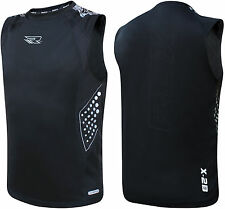 RDX Gym Vest Mens Top BodyBuilding Boxing Tank TShirt Stringer Fitness Running B