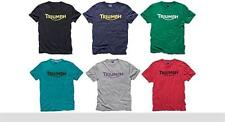 Triumph Motorcycles Logo T Shirt Various Colours  BRAND NEW GENUINE TRIUMPH