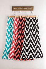 Popular Water ripples Womens Trends Classic Color Maxi Skirt Colorful long ZW20