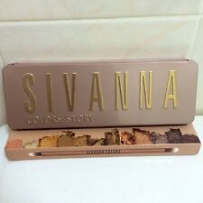 SIVANNA COLORS PALLET EYE SHADOW MAKEUP PALETTE BEAUTY FULL SIZE COSMETICS FACE