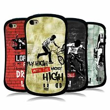 HEAD CASE DESIGNS CHRISTIAN RIDER HYBRID TPU BACK CASE FOR APPLE iPHONE 4
