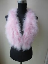 ffree shipping/Free shipping/real ostrich feather fur vest/jacket/pink S-M-L-XL