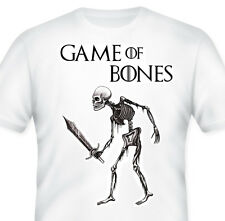 GAME OF BONES T-Shirt! Game of Thrones Parody T-Shirts! Quirky tees, Funny, GoT