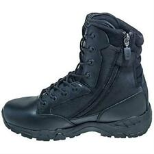 Magnum Viper Pro 8 Side Zipper Tactical Waterproof Black Duty Boots Mens 5474