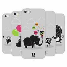 HEAD CASE PARTY ANIMALS TPU GEL BACK CASE COVER FOR APPLE iPHONE 5