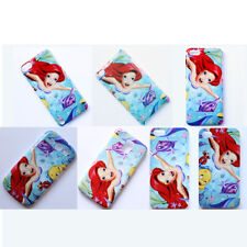 Disney The Little Mermaid Princess Pattern Hard Case Cover For iPhone Samsung