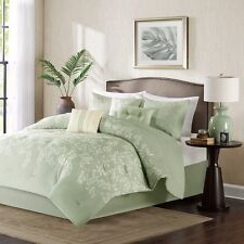 7 PIECE COMFORTER SET  BED IN A BAG BEDDING QUEEN OR KING