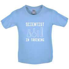 Scientist In Training - Kids / Childrens T-Shirt - Science - Chemistry - Geeky