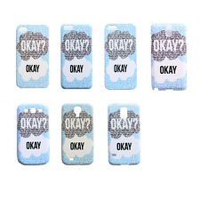 The Fault in Our Stars Okay Pattern Case Cover For Apple iPhone Samsung Galaxy