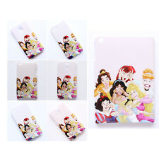 Disney Funny Princess Alice Ariel Stained Pattern Case Cover For iPhone Samsung