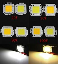 High Power SMD LED Bead Lamp 10W-100W Chips White For Floodlight DIY 900-10000LM