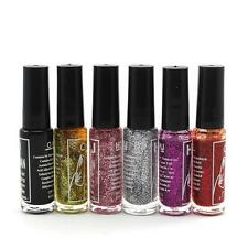 Fashion Nail Polish Lacquer Glitter Collection Home Salon Manicure Nail Polish