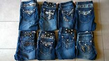 Girls Youth Miss Me Boot Cut Jeans