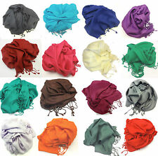 Viscose Plain Pashmina high Quality shawl Wrap Stole Scarf in different colours