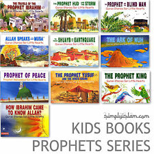 Quran Stories for Little Hearts: Special 10 Prophets Book Collection