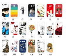 For Samsung Galaxy Core i8260 / Core Duos i8262 Case Cover Cartoon Painted Hard