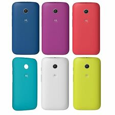 GENUINE OFFICIAL MOTOROLA MOTO E BACK DOOR BATTERY COVER HARD SHELL CASE - NEW