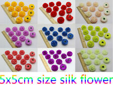 wholesale 30pcs Daisy Artificial Silk Flower Heads Wedding Many color Free ship