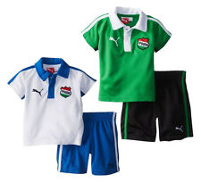 PUMA Infant and Toddler Country Perf Set - White & Green