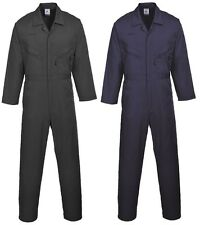 Portwest Liverpool-Zip Coverall Work Wear Overalls
