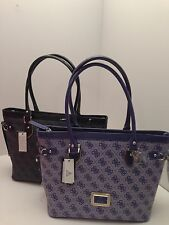 "Guess Handbag ""Reama""  Tote w / G Logo Shoulder Bag Purse *New"