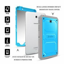 "Rugged Dual Layer Dust & Shock Proof Cover Case For 7"" Samsung Galaxy Tab 4 7.0"