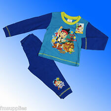 Boys Jake and the Neverland Pirates Pyjamas Age 18 Months 1 2 3 4 Years
