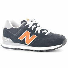 New Balance 574 Classic Traditionnels Black Mens Trainers