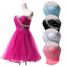 CHEAP Bridesmaid Homecoming Cocktail Gown Prom Party Evening Wedding Short Dress