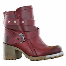 Fly London Lok Red Womens Boots