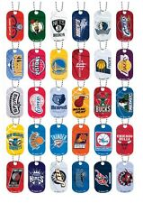 NBA Dog Tag Necklace Mavericks Spurs Lakers Heat Rockets Nets Celtics Bulls