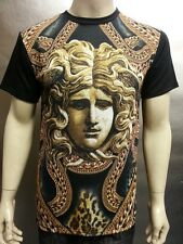 All New Medusa Head With Chained Versace Looks Graphic Men's Sublimation T Shirt