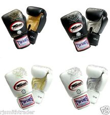 NEW Twins Special Muay Thai K1 Fancy Boxing Gloves Chinese Dragon 8 10 12 14 16