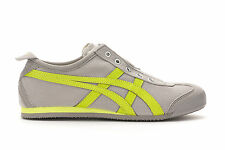 Asics Onitsuka Tiger Mexico 66 Slip On Casual Shoes Mens - Grey/Lime - TH3K0N-13