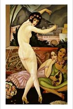 GERDA WEGENER The Dancer SEXUAL seduction naked woman heels NEW CANVAS PRINT!!
