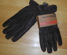 Dockers leather sherpa lined BOMBER gloves...
