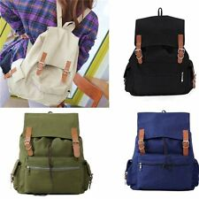 New Fashion Vintage Men Women Canvas Backpack Rucksack Satchel School Bag Unisex