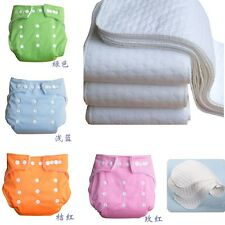 CA Shine Baby Infant Printed Cloth Diapers Reusable Nappy Covers Liner Insert MU