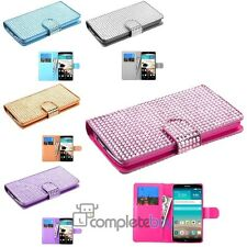 Color Diamonds Book-Style MyJacket Wallet Protector Leather Cover Case For LG G3