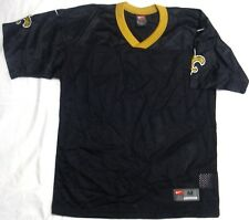 New Orleans Saints Football Jersey Youth Blank Black Gold