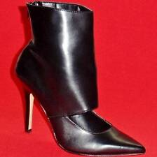 NEW Women's ROCK REPUBLIC ELEKTRA Zipper Black Fashion High Bootie Dress Shoes