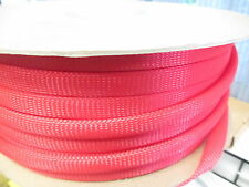 Braided PET Expandable Sleeve  Wire and Cable Loom Sleeving  PICK Color & Size