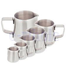 150ML 250ML 350ML 0.6L 1L 1.5L Stainless Steel Coffee Frothing Milk Latte Jug BE