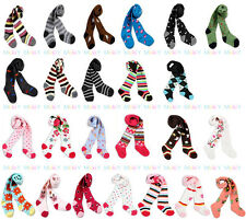 lot Baby boy girl toddler leggings pants Warmer socks Knitting Cotton pantynose