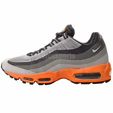 Nike Air Max 95 No Sew Mens Running Shoes Sneakers Trainers 1 90 360 Grey Orange