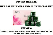 JOVEES FAIRNESS & GLOW FACIAL KIT SET OF 6 REDUCES THE PIGMENTATION & BLEMISHES