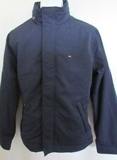 NWT Tommy Hilfiger Winter Jacket with Hood in Collar Dark Navy Blue S M L