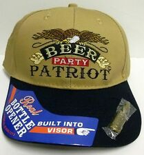 Ball Cap Camo Bottle Opener Pink Deer beer bitch Patriot Vet Whitetail Whisky