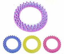 HOUK New Round Loom Board For Colourful Rainbow Rubber Bands Kit Refill Making