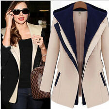 New Autumn Casual Women Slim Zipper Long Sleeve Jacket Hooded Outerwear Coat Top